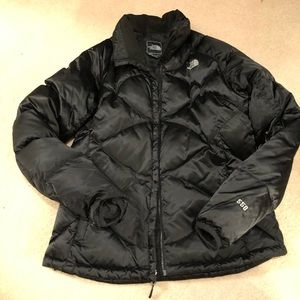 Women's North Face 550 puffer coat